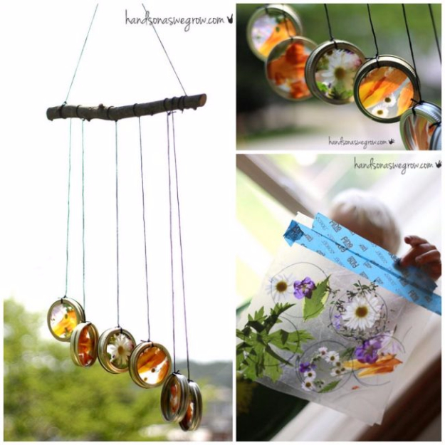 DIY Wind Chimes - Nature Suncatcher Wind Chimes - Easy, Creative and Cool Windchimes Made from Wooden Beads, Pipes, Rustic Boho and Repurposed Items, Silverware, Seashells and More. Step by Step Tutorials and Instructions #windchimes #diygifts #diyideas #crafts