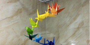 Origami Bird Mobiles Are Show Stoppers & So Much Fun to Make!
