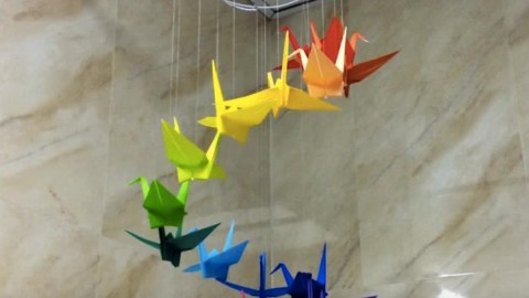 Origami Bird Mobiles Are Show Stoppers So Much Fun To Make