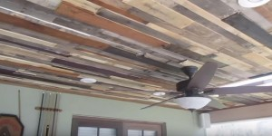 DIY Rustic and Stunning Reclaimed Wood Ceiling Adds Dimension To Your Home!