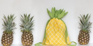 Easy to Sew Adorable Pineapple Backpack That is Almost Edible!