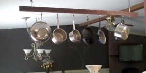 There's Nothing Like a Kitchen Pot Rack to Give Your Home a Stylish Look & Save Space!