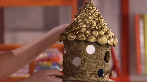 DIY Unusual And Extremely Detailed Birdhouse Is Easy To Make! | DIY Joy Projects and Crafts Ideas