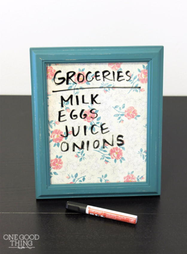 Cheap Crafts To Make and Sell - Simple Erasable Boards - Inexpensive Ideas for DIY Craft Projects You Can Make and Sell On Etsy, at Craft Fairs, Online and in Stores. Quick and Cheap DIY Ideas that Adults and Even Teens Can Make on A Budget #diy #crafts #craftstosell #cheapcrafts