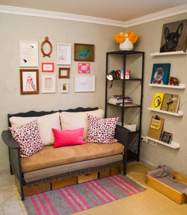 DIY Sofas and Couches - Upcycled Crib To Couch DIY - Easy and Creative Furniture and Home Decor Ideas - Make Your Own Sofa or Couch on A Budget - Makeover Your Current Couch With Slipcovers, Painting and More. Step by Step Tutorials and Instructions #diy #furniture
