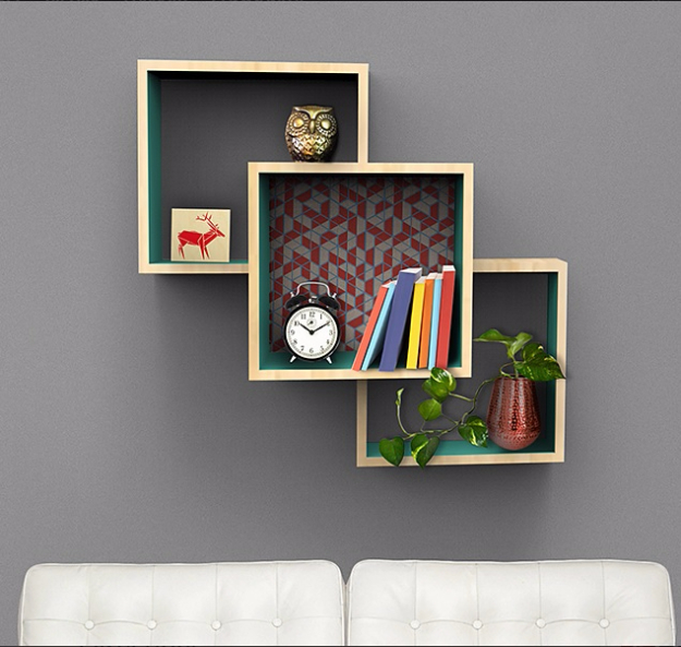 DIY Shelves and Do It Yourself Shelving Ideas - Wall Mounted Display Shelves - Easy Step by Step Shelf Projects for Bedroom, Bathroom, Closet, Wall, Kitchen and Apartment. Floating Units, Rustic Pallet Looks and Simple Storage Plans #diy #diydecor #homeimprovement #shelves