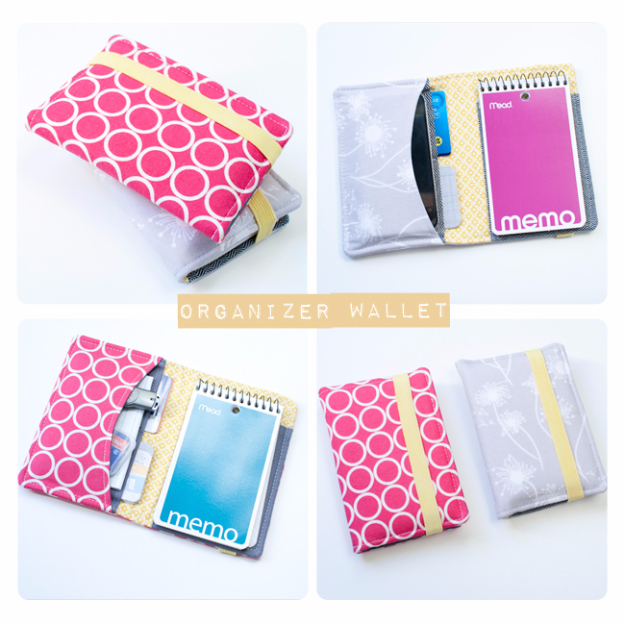 Sewing Crafts To Make and Sell - Wallet Organizer - Easy DIY Sewing Ideas To Make and Sell for Your Craft Business. Make Money with these Simple Gift Ideas, Free Patterns, Products from Fabric Scraps, Cute Kids Tutorials #sewing #crafts