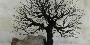 Fabulous Twisted Wire Tree Is Quite The Statement In Your Home!