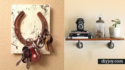 35 Impressive DIYs You Need At Your Entry   DIY Joy Projects and Crafts Ideas