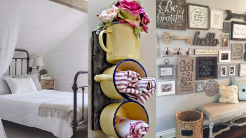 DIY Farmhouse Decor Ideas – 41 Rustic Projects for the Home | DIY Joy Projects and Crafts Ideas