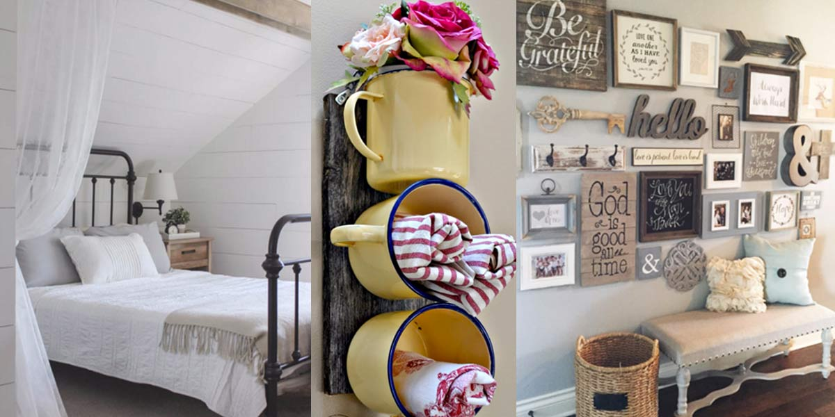 41 incredible farmhouse decor ideas - Rustic Farmhouse Decor