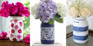36 Brilliant Mason Jar Vases You Should Make Today!