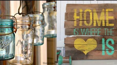 43 Farmhouse Decor Ideas for the Home | DIY Joy Projects and Crafts Ideas