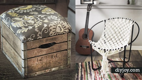 45 Creative DIY Seating Ideas | DIY Joy Projects and Crafts Ideas
