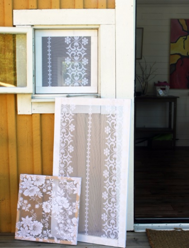 40 DIY Ways to Dress Up Boring Windows - Add Lace To Your Windows - Cool Crafts and DIY Ideas to Make Awesome Bedrooms, Living Room Decor - Easy No Sew Ideas, Cheap Ideas for Makeovers, Painting and Sewing Tutorials With Step by Step Instructions for Awesome Home Decor