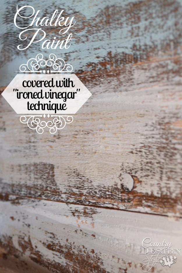 32 DIY Paint Techniques and Recipes - Chalky Paint Ironed Vinegar - Cool Painting Ideas for Walls and Furniture - Awesome Tutorials for Stencil Projects and Easy Step By Step Tutorials for Painting Beautiful Backgrounds and Patterns. Modern, Vintage, Distressed and Classic Looks for Home, Living Room, Bedroom and More