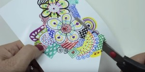 I Had No Idea She Could Make This Just By Doodling on Paper!