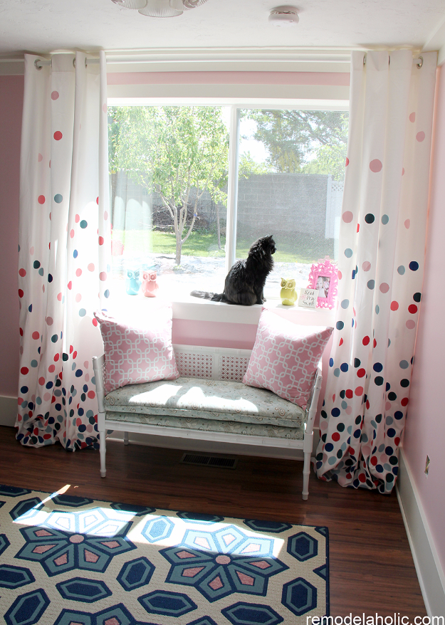 40 DIY Ways to Dress Up Boring Windows - Confetti Drapes Tutorial - Cool Crafts and DIY Ideas to Make Awesome Bedrooms, Living Room Decor - Easy No Sew Ideas, Cheap Ideas for Makeovers, Painting and Sewing Tutorials With Step by Step Instructions for Awesome Home Decor