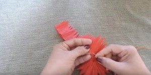 What She Makes Out of Crepe Streamers Floored Me (CHEAP TOO!)…