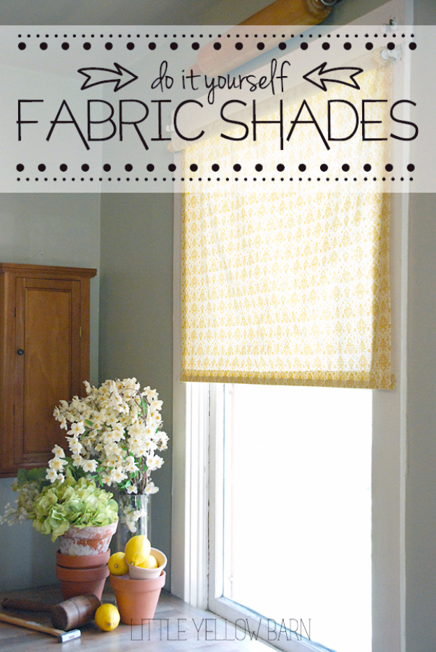 50 DIY Curtains and Drapery Ideas - DIY Fabric Shades - Easy No Sew Ideas and Step by Step Tutorials for Drapes and Curtain Ideas - Cheap and Creative Projects for Bedroom, Living Room, Kitchen, Kids and Teen Rooms - Simple Draperies for Fabric, Made Out of Sheets, Blackout Curtains and Valances #sewing #diydecor #drapes #decoratingideas