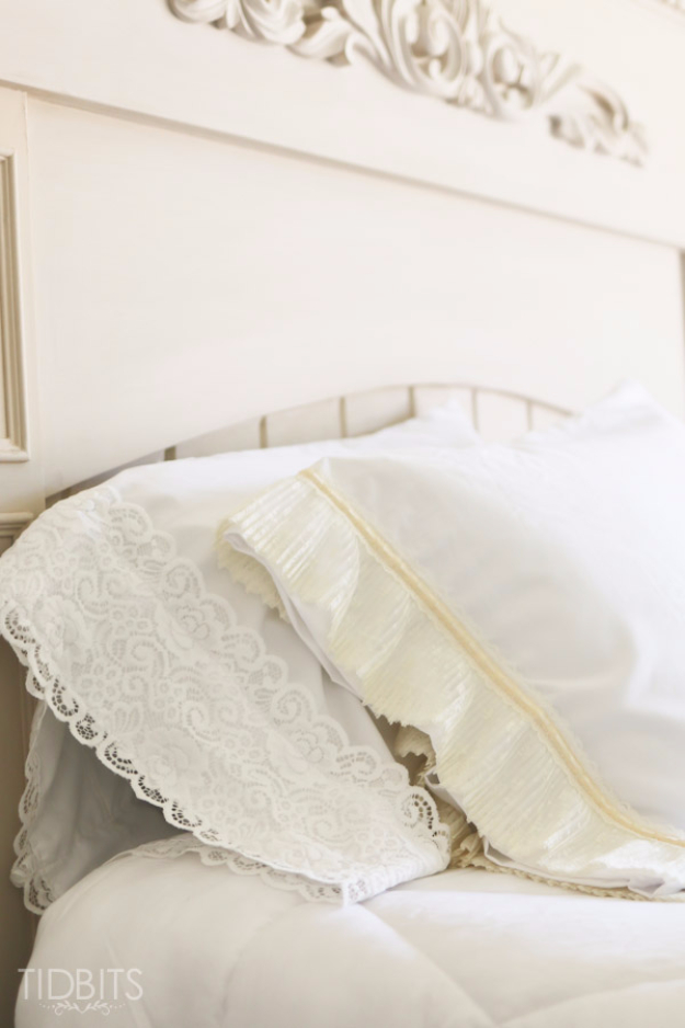 40 dreamy shabby chic decor and bedding ideas. Black Bedroom Furniture Sets. Home Design Ideas