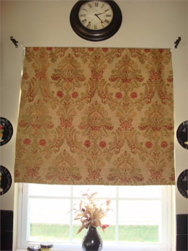 50 DIY Curtains and Drapery Ideas - DIY No Sew Roman Shades - Easy No Sew Ideas and Step by Step Tutorials for Drapes and Curtain Ideas - Cheap and Creative Projects for Bedroom, Living Room, Kitchen, Kids and Teen Rooms - Simple Draperies for Fabric, Made Out of Sheets, Blackout Curtains and Valances #sewing #diydecor #drapes #decoratingideas