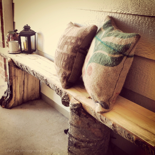 DIY Projects Made From Trash - DIY Outdoor Burlap Pillows - Cool Crafts and DIY Made from Upcycled Items You Don't Want To Throw Away. Home Decor, Gifts and Fun Ideas for Kids, Adults and Teens