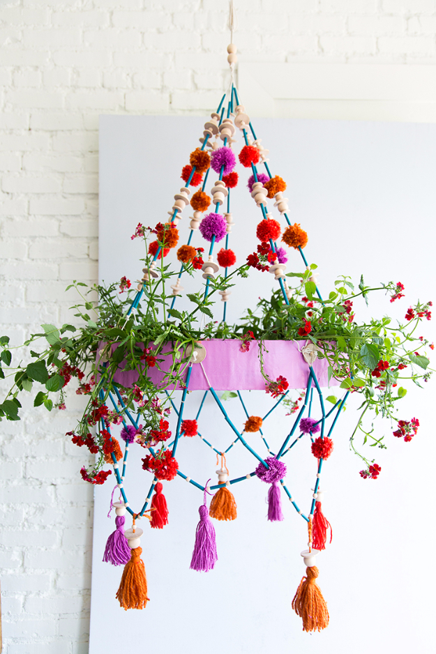 DIY Chandelier Ideas and Project Tutorials - DIY Polish Chandelier - Easy Makeover Tips, Rustic Pipe, Crystal, Rustic, Mason Jar, Beads. Bedroom, Outdoor and Wedding Girls Room Lighting Ideas With Step by Step Instructions http://diyjoy.com/diy-chandelier-ideas