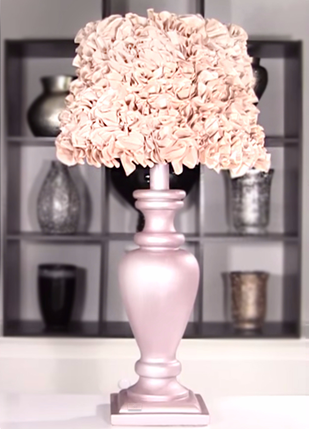 Shabby Chic Decor and Bedding Ideas - DIY Shabby Chic Lamp - Rustic and Romantic Vintage Bedroom, Living Room and Kitchen Country Cottage Furniture and Home Decor Ideas. Step by Step Tutorials and Instructions http://diyjoy.com/diy-shabby-chic-decor-bedding