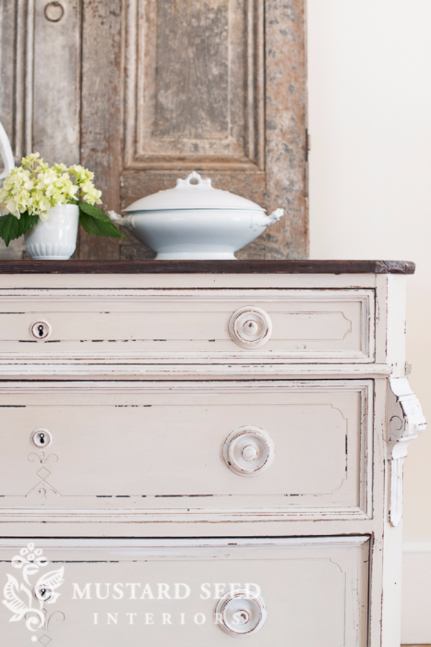 DIY Furniture Refinishing Tips - Distressing Painted Furniture- Creative Ways to Redo Furniture With Paint and DIY Project Techniques - Awesome Dressers, Kitchen Cabinets, Tables and Beds - Rustic and Distressed Looks Made Easy With Step by Step Tutorials - How To Make Creative Home Decor On A Budget
