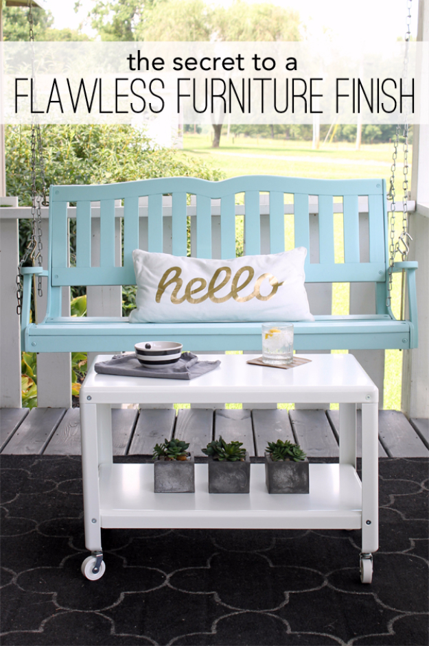 DIY Furniture Refinishing Tips - Flawless Furniture Finish - Creative Ways to Redo Furniture With Paint and DIY Project Techniques - Awesome Dressers, Kitchen Cabinets, Tables and Beds - Rustic and Distressed Looks Made Easy With Step by Step Tutorials - How To Make Creative Home Decor On A Budget