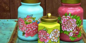 Rather Than Discard These Jars He Turns Them Into Fabulous Works of Art (WATCH HOW)!