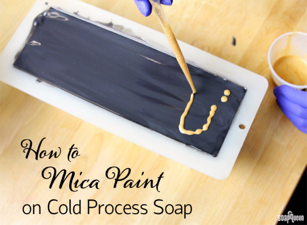 32 DIY Paint Techniques and Recipes - Mica Paint On Cold Process Soap - Cool Painting Ideas for Walls and Furniture - Awesome Tutorials for Stencil Projects and Easy Step By Step Tutorials for Painting Beautiful Backgrounds and Patterns. Modern, Vintage, Distressed and Classic Looks for Home, Living Room, Bedroom and More