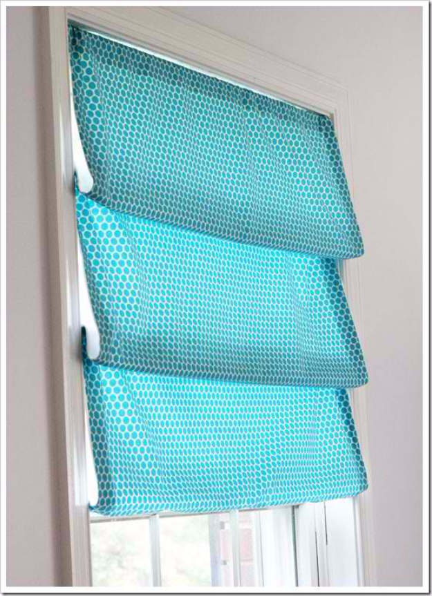 40 DIY Ways to Dress Up Boring Windows - One Yard Window Treatment - Cool Crafts and DIY Ideas to Make Awesome Bedrooms, Living Room Decor - Easy No Sew Ideas, Cheap Ideas for Makeovers, Painting and Sewing Tutorials With Step by Step Instructions for Awesome Home Decor