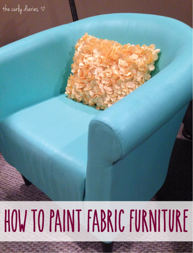 Upcycled Furniture Projects - Paint Fabric Furniture - Repurposed Home Decor and Furniture You Can Make On a Budget. Easy Vintage and Rustic Looks for Bedroom, Bath, Kitchen and Living Room. #upcycled #diyideas #diyfurniture