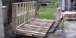 You Will Be Left Speechless When You See What He Makes With All These Pallets (WATCH!)