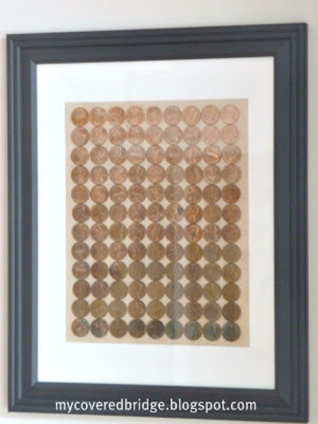 40 diys made from pennies dollar bills money