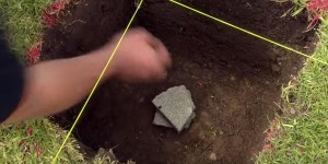 He Throws A Rock In A Hole In His Yard. You Will Not Believe What He Does Next (WATCH)
