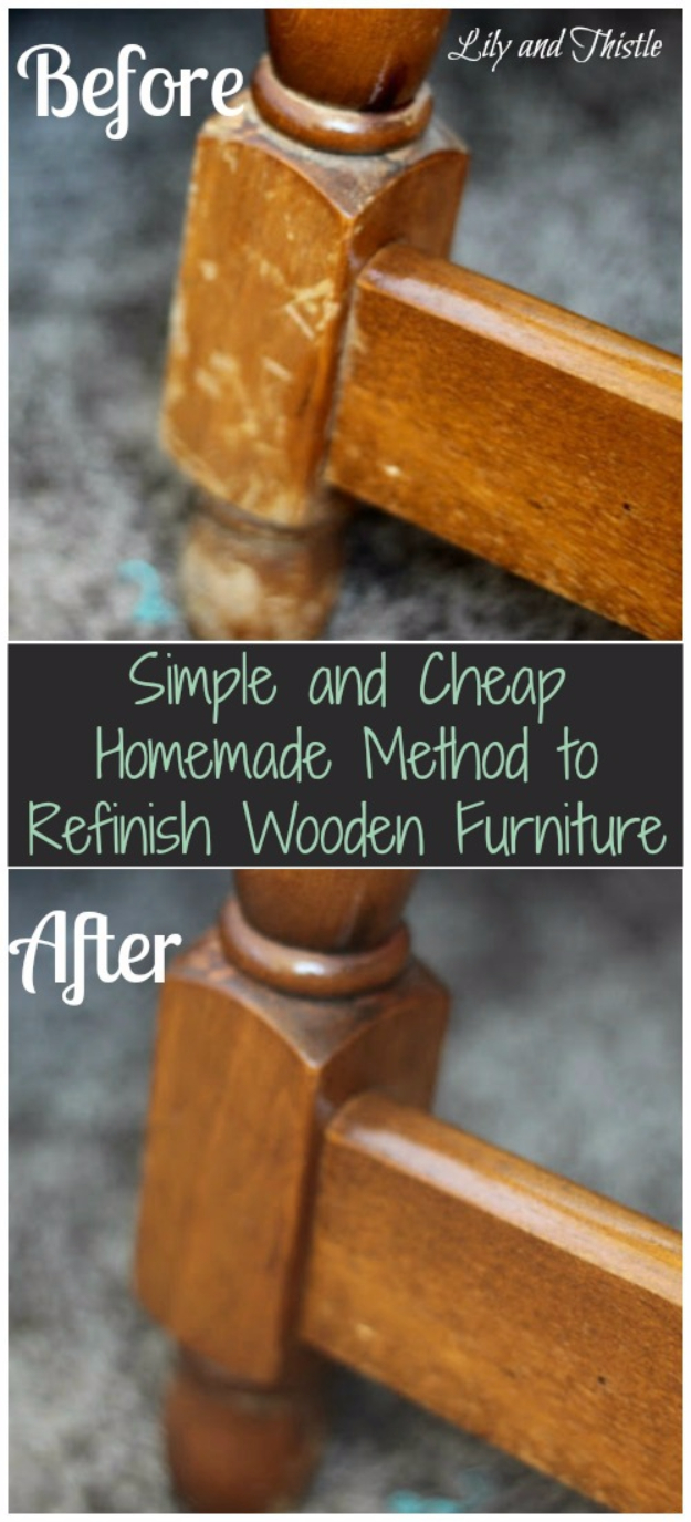 DIY Furniture Refinishing Tips - Quick And Easy Way To Refinish Wooden Furniture - Creative Ways to Redo Furniture With Paint and DIY Project Techniques - Awesome Dressers, Kitchen Cabinets, Tables and Beds - Rustic and Distressed Looks Made Easy With Step by Step Tutorials - How To Make Creative Home Decor On A Budget