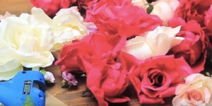 Watch This To She Takes Craft Store Roses and Makes Something You Would Swear Came From Pottery Barn!