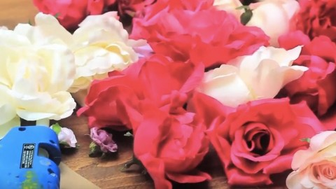 Watch This To She Takes Craft Store Roses and Makes Something You Would Swear Came From Pottery Barn! | DIY Joy Projects and Crafts Ideas