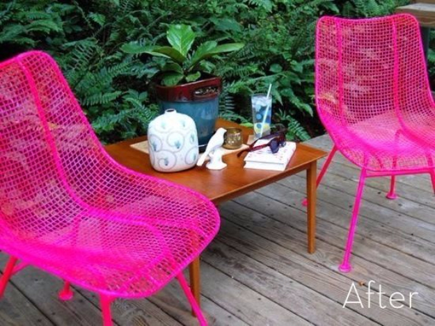 DIY Furniture Refinishing Tips - Rusty Metal Chairs To Modern Outdoor Set - Creative Ways to Redo Furniture With Paint and DIY Project Techniques - Awesome Dressers, Kitchen Cabinets, Tables and Beds - Rustic and Distressed Looks Made Easy With Step by Step Tutorials - How To Make Creative Home Decor On A Budget