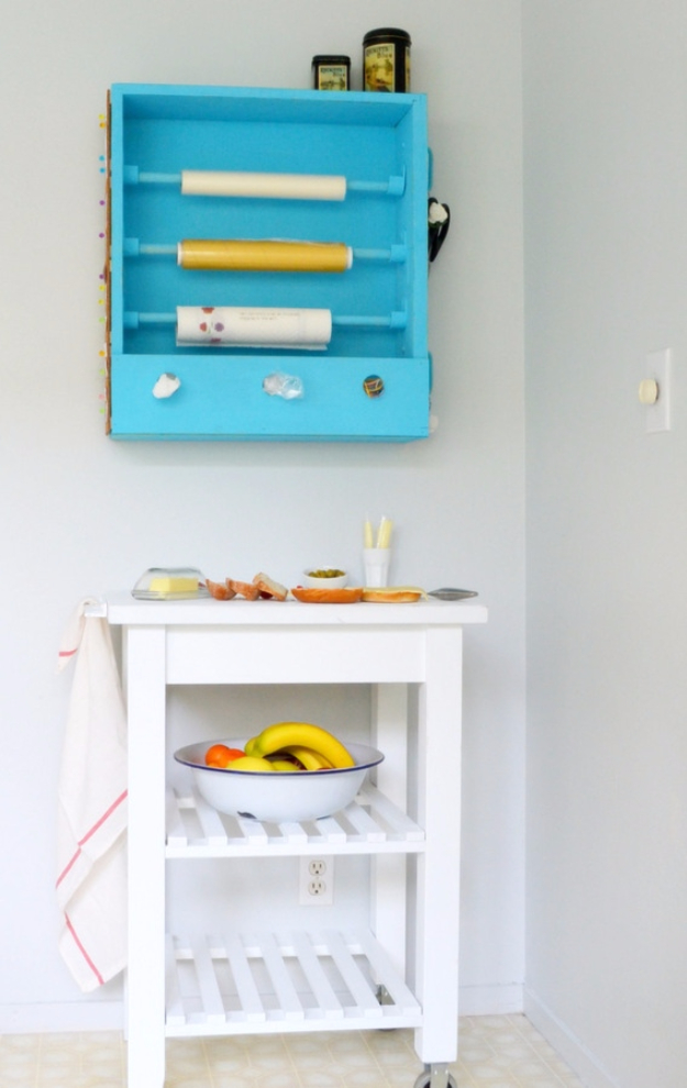 Upcycled Furniture Projects - Sandwich Station From A Recycled Drawer - Repurposed Home Decor and Furniture You Can Make On a Budget. Easy Vintage and Rustic Looks for Bedroom, Bath, Kitchen and Living Room. #upcycled #diyideas #diyfurniture