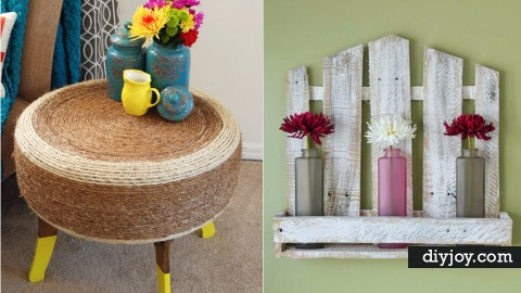 32 Classy DIYs Made From Trash | DIY Joy Projects and Crafts Ideas