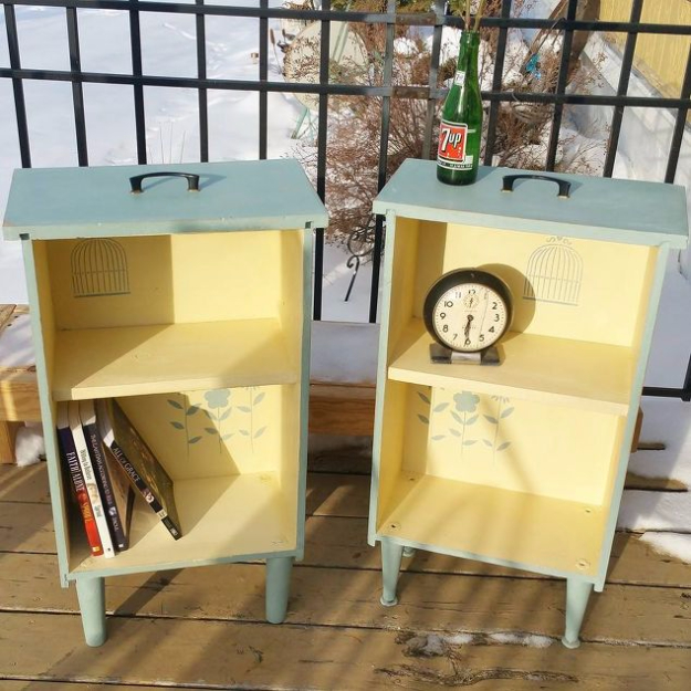 Upcycled Furniture Projects - Upcycled Drawers to Side Tables - Repurposed Home Decor and Furniture You Can Make On a Budget. Easy Vintage and Rustic Looks for Bedroom, Bath, Kitchen and Living Room. http://diyjoy.com/upcycled-furniture-projects