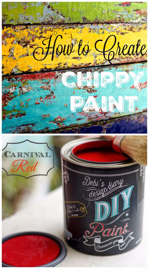 32 DIY Paint Techniques and Recipes - Weathered Boat Paint Finish - Cool Painting Ideas for Walls and Furniture - Awesome Tutorials for Stencil Projects and Easy Step By Step Tutorials for Painting Beautiful Backgrounds and Patterns. Modern, Vintage, Distressed and Classic Looks for Home, Living Room, Bedroom and More