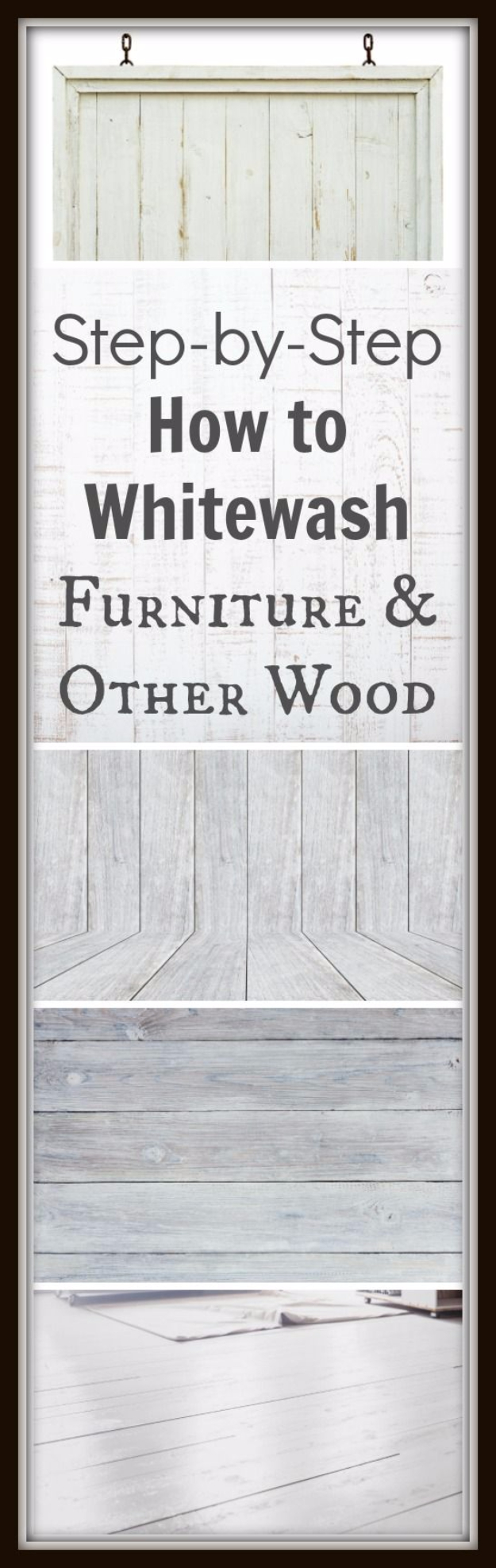 DIY Furniture Refinishing Tips - Whitewashing Furniture - Creative Ways to Redo Furniture With Paint and DIY Project Techniques - Awesome Dressers, Kitchen Cabinets, Tables and Beds - Rustic and Distressed Looks Made Easy With Step by Step Tutorials - How To Make Creative Home Decor On A Budget