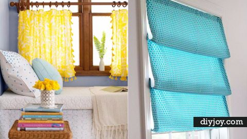 40 Ways to Dress Up Boring Windows | DIY Joy Projects and Crafts Ideas