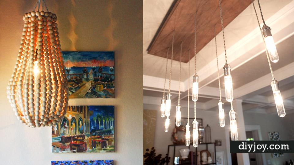 41 super creative diy chandeliers aloadofball Image collections
