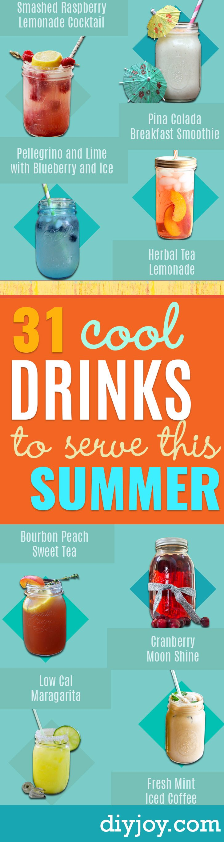 31 Cool Drinks To Serve This Summer